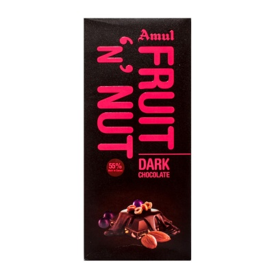 AMUL FRUIT AND NUT CHOCOLATE PACK 150 G